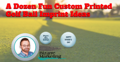 A Dozen Fun Custom Printed Golf Ball Imprint Ideas