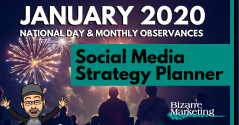 Social Media Strategy Planner – January 2020