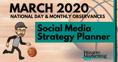 Social Media Strategy Planner – March 2020