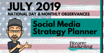 July 2019 Social Media Content Ideas