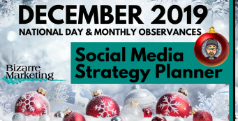 Social Media Strategy Planner –  December 2019